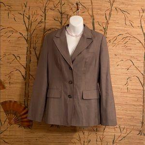 Brown Suit Ann Taylor Loft